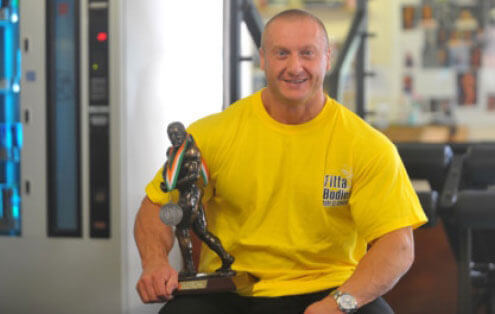 Picture of Edward Selsby at the Gym Bury St Edmunds
